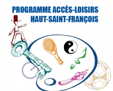 Le programme Accès-Loisirs Haut-Saint-François